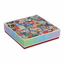 Vintage Travel Luggage Labels 500pc Puzzle by Troy Litten and Galison (2016,...