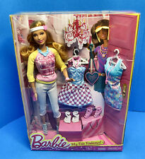 Barbie My Fab Fashions Doll - Summer- 3 Outfits & Accessories - New in Package