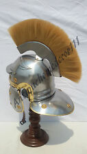 Medieval Armour Roman Centurion Wearable Helmet - Gift Larp Reenactment Costume