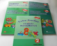 Primary Math Extra 2 Set(US Edition) -Workbooks/Texbooks 2A+2B+ Extra Practice 2