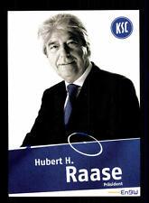 Hubert H Raase Autogrammkarte Karlsruher SC 2007-08 Original Signiert+A 142586