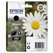 1 Black Genuine Epson XP-30 XP-225 XP-322 XP-405WH XP-412 XP-422 Ink Cartridge