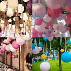 XD#3 Multicolor Round Chinese Japanese Paper Lanterns Wedding Party Decoration