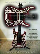 Custom carved Dean Vendetta 6-string electric guitar, right-handed, solid wood