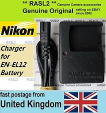 Genuina Original Nikon Mh-65 Cargador En-el12 Coolpix S9100 S710 S6150 P300 S70