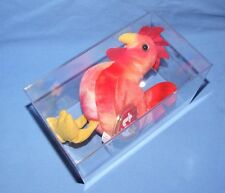 STRUT the Rooster Ty Original Beanie Baby - 1996 Retired, Chinese Stamp, w/ Box