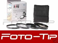 77mm Professional filter set : UV POLARISING ND8 MACRO