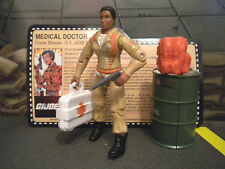 GI JOE ~ 2007 DOC ~ FEMALE MEDICAL DOCTOR ~ CONVENTION EXCLUSIVE