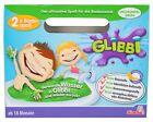 Glibbi Kinder Badespaß Pulver Dschungel Grün für Badewanne Simba Wanne Pool
