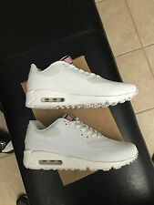 Nike Air Max 90 HYP Hyperfuse Independence Day Red White Blue USA Yeezy Sz 10