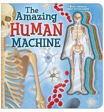 The Amazing Human Machine: Book with Acetate Body System Cards-ExLibrary