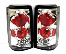 FOR FORD AEROSTAR 1985 - 1997 CHROME EURO TAIL LIGHTS