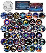 SPACE SHUTTLE DISCOVERY MISSIONS Colorized FL State Quarters US 39-Coin Set NASA