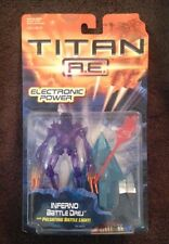 Titan A.E. - Inferno Battle Drej - With Pulsating Battle Light! - Hasbro - New