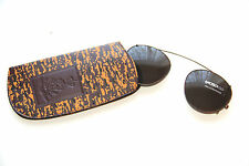 "Dutch Army - Luxottica - Military ""Clip on"" Sunglasses - Small 11CM- CAMO Case"