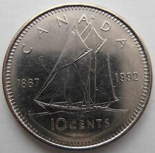 CANADA 10 CENTS 1992