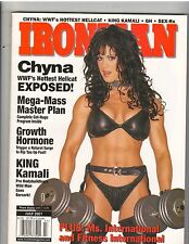 IronMan Bodybuilding muscle magazine/WWE Wrestling CHYNA 7-01