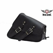 Black Swing Arm Bag with Universal Fitting - Left Side Bag