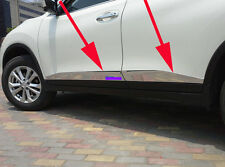Body Door Sill Side Molding cover trim for 2014-2016 Nissan X-Trail Rogue new