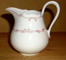 Oskar Schaller & Co  Bavaria 1 Milchkännchen, Weiß mit rosa Dekor