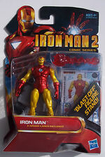 MARVEL IRON MAN 2 SERIES. NO. 26. BLAST-OFF FIGURE STAND. MINI. NEW ON CARD.
