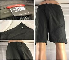 The North Face Shorts Size 34 Gray Nylon Spandex Hiking Flat Front Mint YGI 12ff