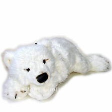 LARGE 71CM HUGE HANDMADE GIANT WHITE POLAR TEDDY BEAR BIG STUFFED & SOFT CLAWS