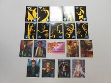 1995 Batman Forever Metal CHASE card lot! 10 Gold Blaster, 8 Movie Preview +1!!!