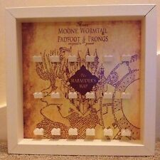 Lego Harry Potter Hogwarts Marauders Map Mini Figure Minifig Display Frame Cases
