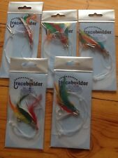 Sea Fishing Ready Tied Rigs Mackerel Feathers Free Postage