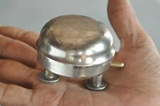 Old Brass Handcrafted Nickel Plated Unique Table Bell , Germany