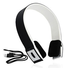WIRELESS RECHARGEABLE BLUETOOTH 2.1 STEREO HEADPHONES iPAD 2 iPHONE 4/4S/5 HTC