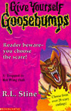 Trapped in Batwing Hall (Give Yourself Goosebumps), Good Condition Book, Stine,