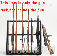 Dragon Model Toys 1/6 Weapon Wood Storage Rack Stand Rifle Rack F 10-Gun Figure