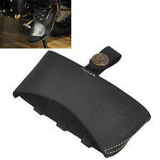 New Black Leather Motorcycle Shift Guard Shifter Sock Boot Shoe Protector Cover
