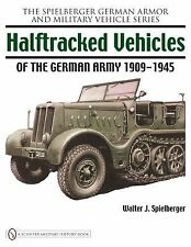 Book - Halftracked Vehicles of the German Army 1909-1945