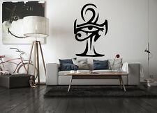 Wall Vinyl Sticker Room Decal Mural Design Egypt Eye Of Ra Horus Ankh bo2192