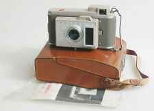 POLAROID J33 CAMERA WITH MANUAL AND ORIGINAL CASE AND STRAP AS IS