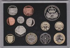 2010 ROYAL MINT EXECUTIVE PROOF SET OF 13 COINS IN WOODEN BOX