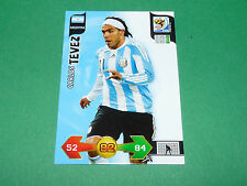 CARLOS TEVEZ ARGENTINA PANINI FOOTBALL FIFA WORLD CUP 2010 CARD ADRENALYN XL