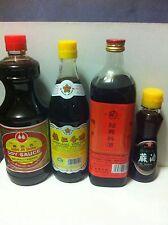 Essential Asian Style Seasonings: Cooking Wine, Vinenar, Soy Sauce & Sesame Oil