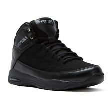 AND1 Coach Mid Men's Basketball Shoes sneakers black size 9.5  New in Box!
