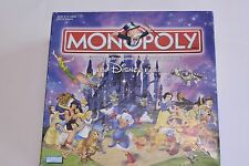 Disney Edition Monopoly Game 2001 Collectible Game 100% Complete