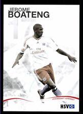 Jerome Boateng  Autogrammkarte Hamburger SV 2009-10 Original Signiert + A 120317