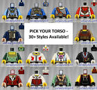 LEGO - Torsos CASTLE - PICK YOUR STYLE - Kingdom Fantasy Minifigure Body Parts