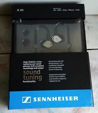CUFFIE SENNHEISER IE80 AURICOLARI EAR MONITOR MP3 MIXER AUDIO sennehiser shure