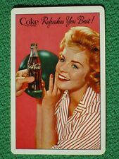 "Coca-Cola Pretty Girl Bowling ""Coke Refreshes You Best"" 1961 Swap Card MINT Cond"