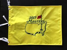 NEW* OFFICIAL AUGUSTA NATIONAL 2017 THE MASTERS UNSIGNED PIN FLAG Sergio Garcia