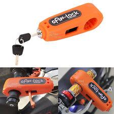 Handlebar Grip Brake Lever Lock For Harley Dyna Street Bob FXDB Fat Bob FXDF