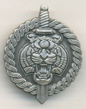CROATIA   HV ,  1. Guards Brigade ''TIGERS''  Tigrovi - Beret Badge , Type 1